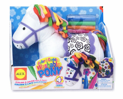 Alex Color and Cuddle Pony