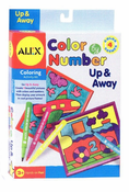 Alex Color by Number Up and Away