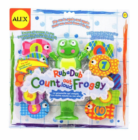 Alex Count Out Loud Froggy