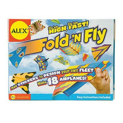 Alex Fold N Fly Paper Airplane Kit