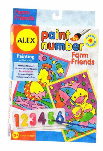 Alex Paint By Number Farm Friends