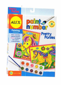 Alex Paint By Number Pretty Ponies