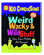 Alex Weird, Wacky & Wild Stuff Book