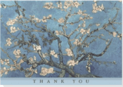 Almond Blossoms Thank You Note