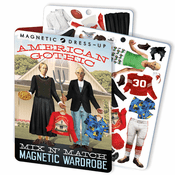 American Gothic Magnetic Dress Up Set