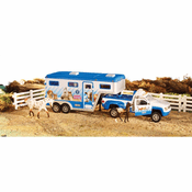 Animal Rescue Truck and Trailer