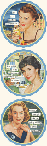 Ann Taintor Coasters - Do I Ever Question Your Lifestyle?