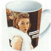 Anne Taintor Vintage Revisited Domestically Disabled Mug