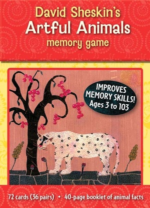 Artful Animals Memory Game