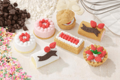 Assorted Cake Erasers