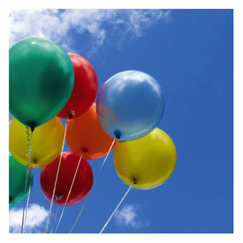 Assorted Colored Balloons 15 ct.