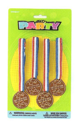 Award Medals Party Favors