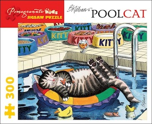 B. Kliban: Pool Cat Jigsaw Puzzle