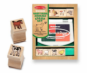 Baby Farm Animal Stamps