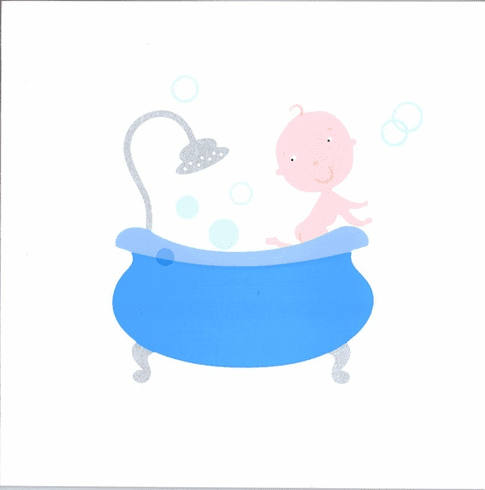 Baby In Shower