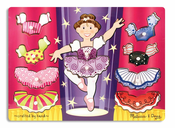 Ballerina Dress Up Peg Puzzle