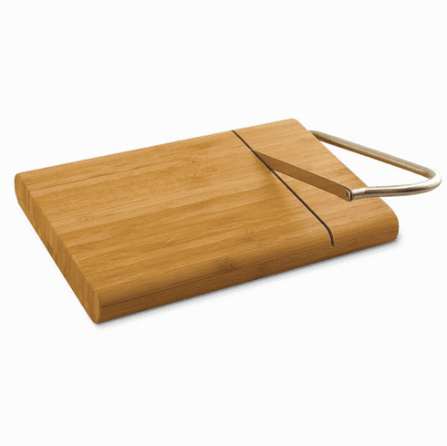 Bamboo Cheeseboard with Slicer
