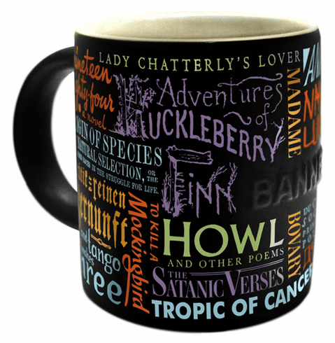 Banned Books Mug