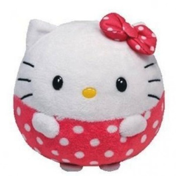 Beanie Ballz Hello Kitty 5""