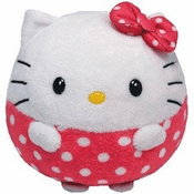 Beanie Ballz Hello Kitty Pink 13""