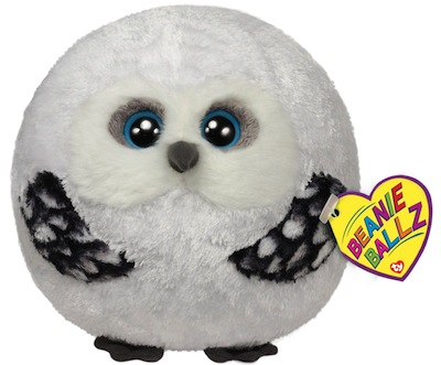Beanie Ballz Hoots the Owl 5""
