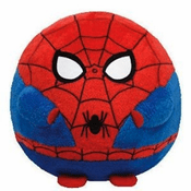 Beanie Ballz Spiderman 8""