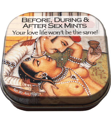 Before During After Sex Mints