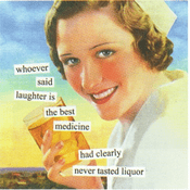 Best Medicine Beverage Napkins