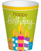 Birthday Surprise Party Cups
