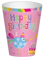 Birthday Tweets Party Cups