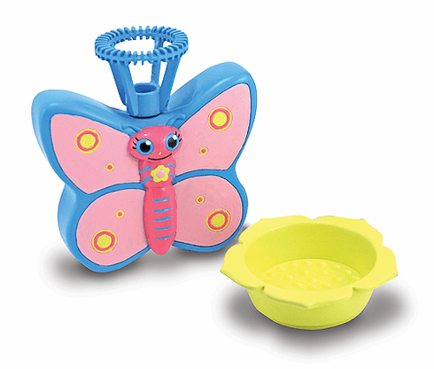 Bixie Butterfly Bubble Buddy Squeeze Critter