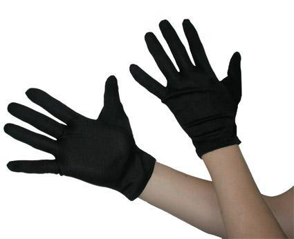 Black Sketch Gloves