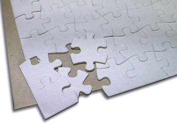 Blank Jigsaw Puzzle