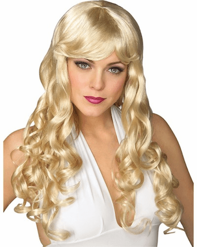 Blonde Movie Starlet Wig