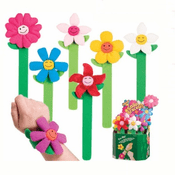 Blooming Flower Snap Bracelet