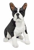 Boston Terrier Plush