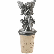 Bottle Stopper - Pewter Pixie
