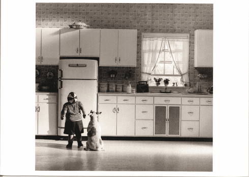 Boy In Kitchen