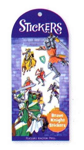 Brave Knight Stickers