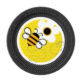 Busy Bee 7 Inched Plates