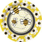 Busy Bee Plates 9 Inched