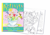 Busy Garden Activity Book