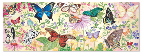 Butterfly Bliss Floor Puzzle