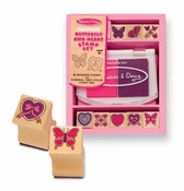 Butterfly & Heart Stamp Set