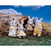 Calico Critters 1628 Cottontail Rabbit Family
