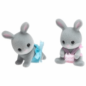 Calico Critters 1629 Cottontail Rabbit Twins