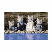 Calico Critters 1640 Fisher Cat Family
