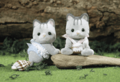 Calico Critters 1641 Fisher Cat Twins