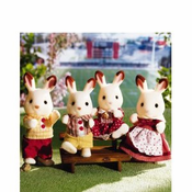 Calico Critters 1642 Hopscotch Rabbit Family