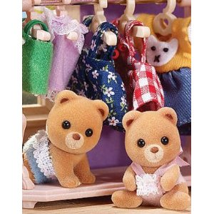 Calico Critters 1852 Sugar Bear Twins